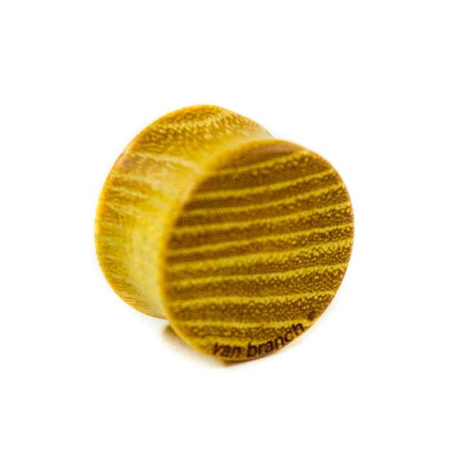 Holz Plug Berlin Honey Osage Orange - van branch - Rückansicht