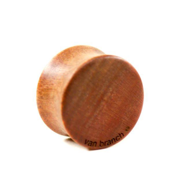 Holz Plug Hirsch Pink Ivory - van branch - Rückansicht