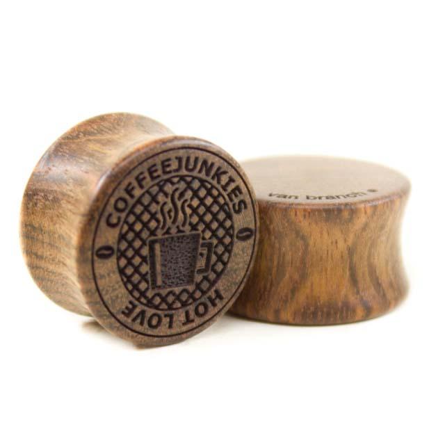 Holz Plug Coffeejunkies Chechen - van branch - Paaransicht