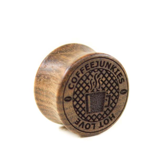 Holz Plug Coffeejunkies Chechen - van branch - Frontansicht