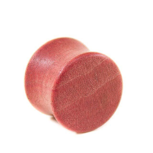 Holz Plug Mandala Pink Ivory - van branch - Rückansicht