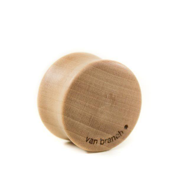 Holz Plug Ananas Elsbeere - van branch - Rückansicht