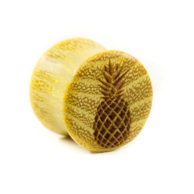 Holz Plug Ananas Osage Orange - van branch - Frontansicht
