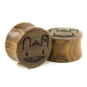 Holz Plug Wunschmotiv Chechen - van branch - Beispielbild 3