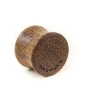 Holz Plug Wunschmotiv Chechen - van branch - Rückansicht