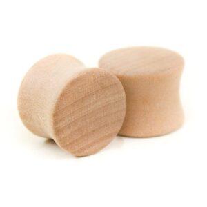 Holz Plug Wunschmotiv Elsbeere - van branch - Paaransicht