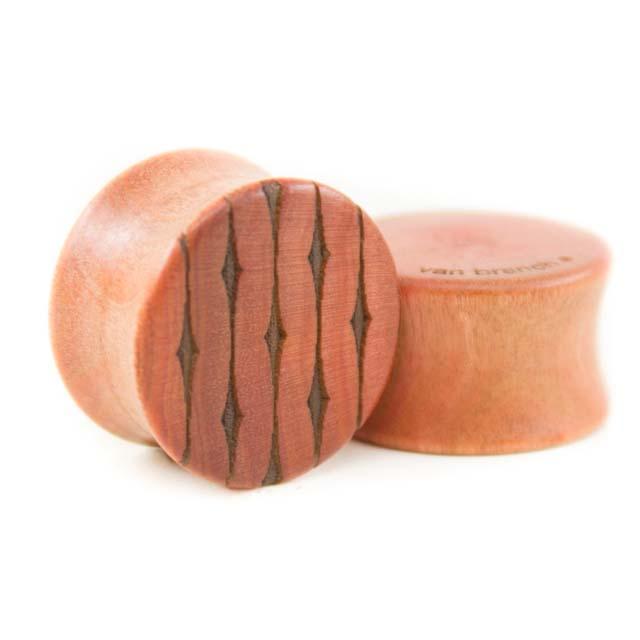 Holz Plug Wunschmotiv Pink Ivory - van branch - Beispielbild 6