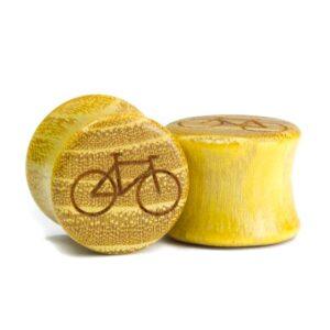 Holz Plug Fahrrad Osage Orange - van branch - Paar
