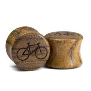 Holz Plug Fahrrad Chechen - van branch - Paar