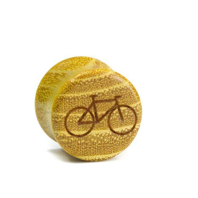Holz Plug Fahrrad Osage Orange - van branch - Front