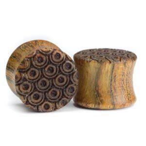 Holz Plug Jungfernheide Chechen - van branch - Paaransicht