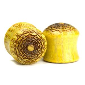 Holz Plug Kreuzberger Rose Osage Orange - van branch - Paaransicht