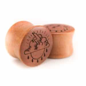 Holz Plug Wetter Pink Ivory - van branch - Paaransicht