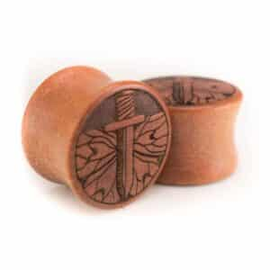 Holz Plug Schwert Pink Ivory - van branch - Paaransicht