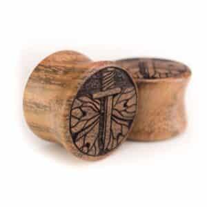 Holz Plug Schwert Chechen - van branch - Paaransicht
