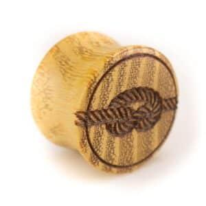 Holz Plug Knoten Osage Orange - van branch - Front