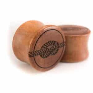 Holz Plug Knoten Pink Ivory - van branch - Paaransicht