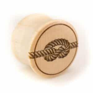 Holz Plug Knoten Ahorn - van branch - Front