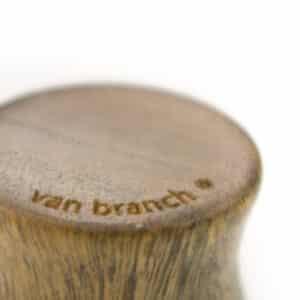 Holz Plug Knoten Verawood- van branch - Branding Detail