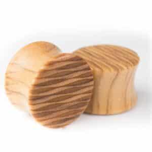 Holz Plug Oberspree Olivenholz - van branch - Paar