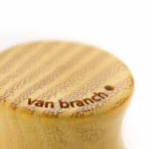 Holz Plug Oberspree Osage Orange - van branch - Branding Detail