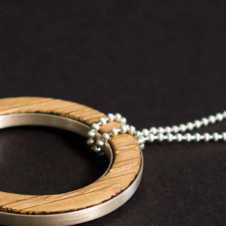 van branch - Friedenau - individuelle Kette - Kugelkette - Sterlingsilber