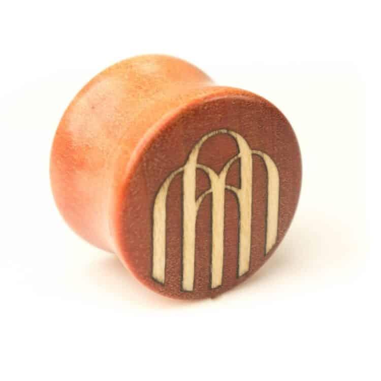 Holz Plug Priesterweg Pink Ivory   Ilex - van branch - Front