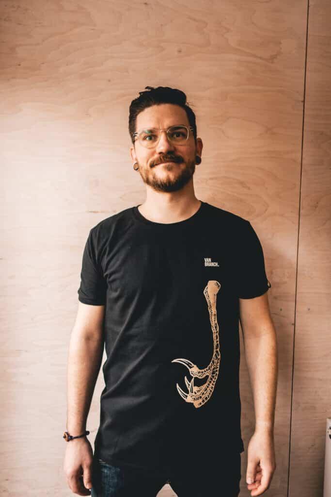 Shirt schwarz KRALLE-5
