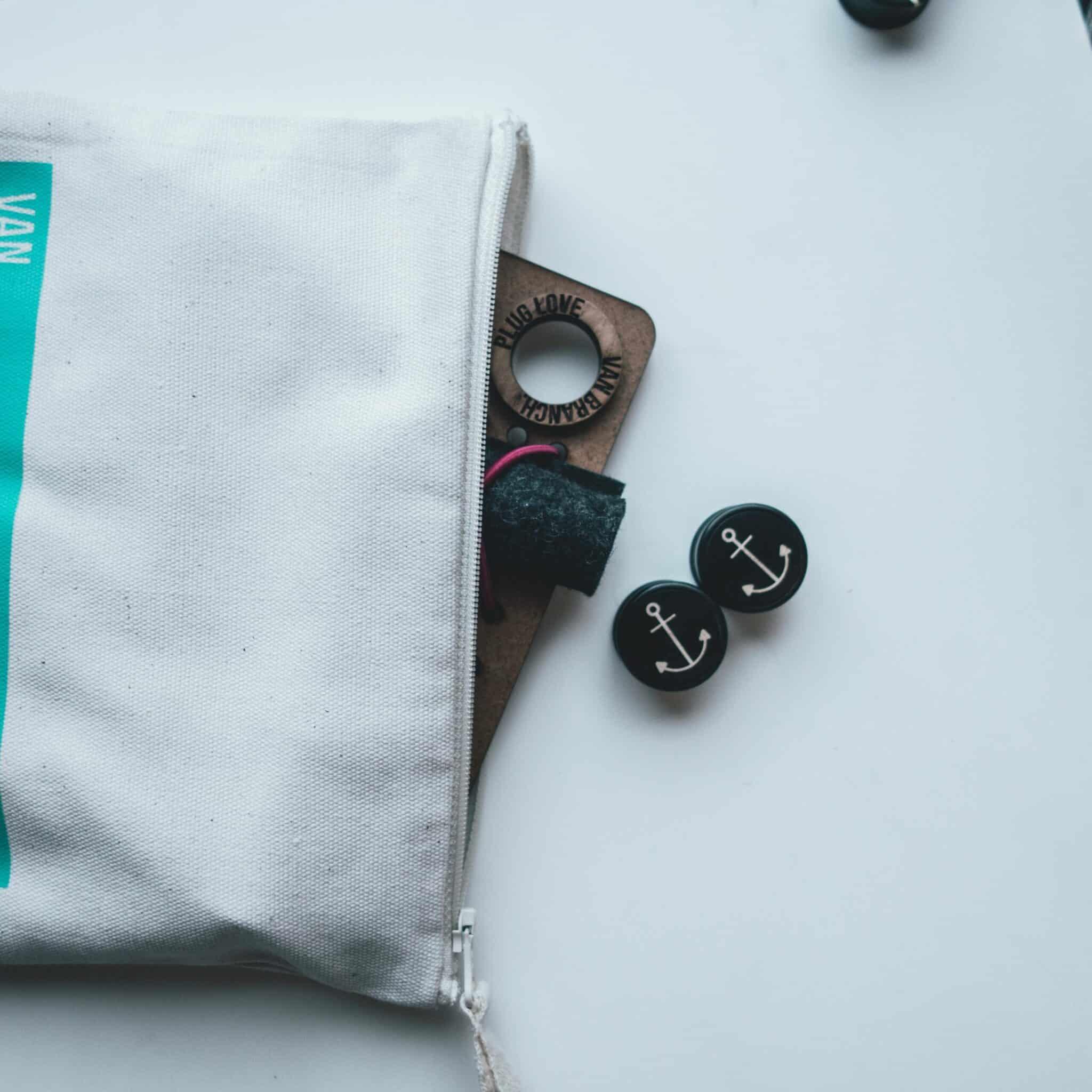 Plug Tasche zur individuellen Gestaltung für alle Größen