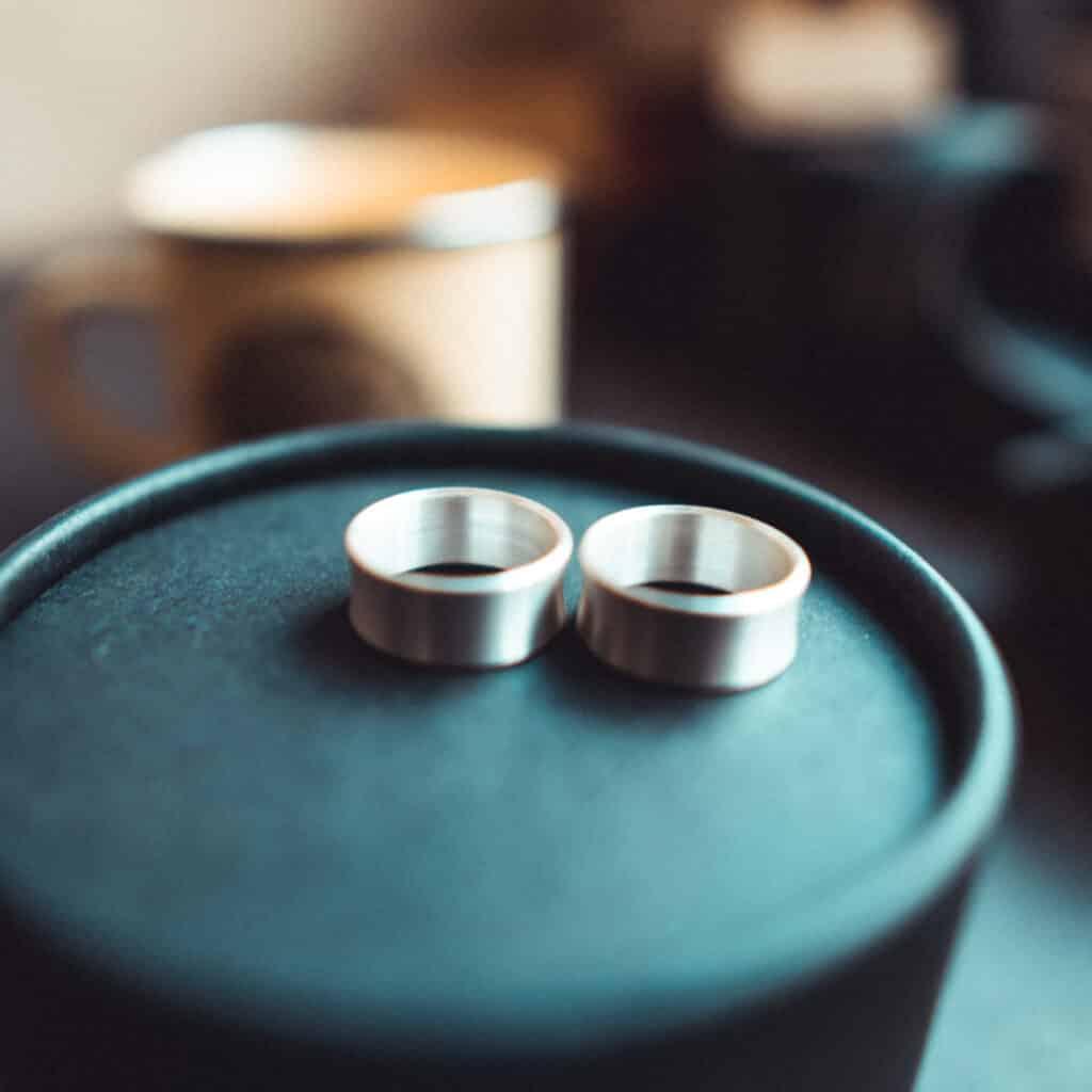 Handgefertigter Silber ohrtunnel - individuell für dich hergestellt